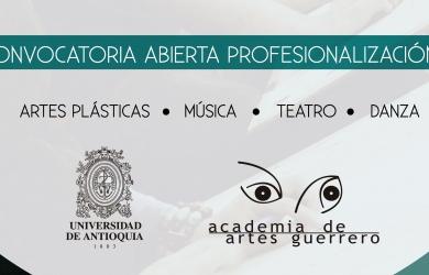 Convocatoria Abierta Convenio de Profesionalización Universidad de Antioquia