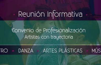 Reunión Informativa Convenio de Profesionalización